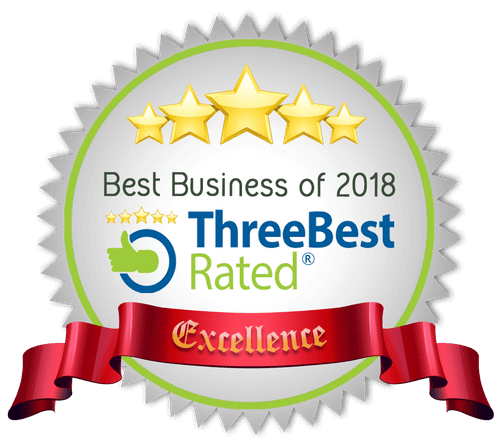 Logo - Best Business of 2018 (Three Best Rated)(Excellent)